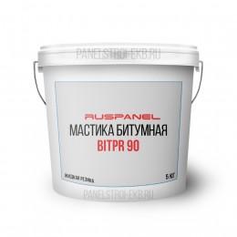 Гидроизоляционная битумная мастика BitPR 90, 5кг