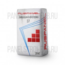 Ruspanel 37 шпатлевка финишная, 25 кг