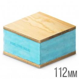 Sandwich ФанераХ2 + XPS 1200х600х112