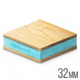 Sandwich ФанераХ2 + XPS 1200х600х32