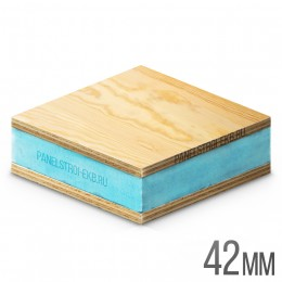 Sandwich ФанераХ2 + XPS 1200х600х42