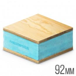 Sandwich ФанераХ2 + XPS 1200х600х92
